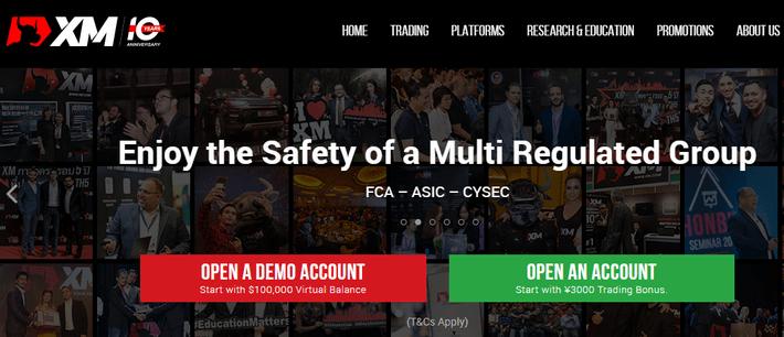 海外用XM公式サイト