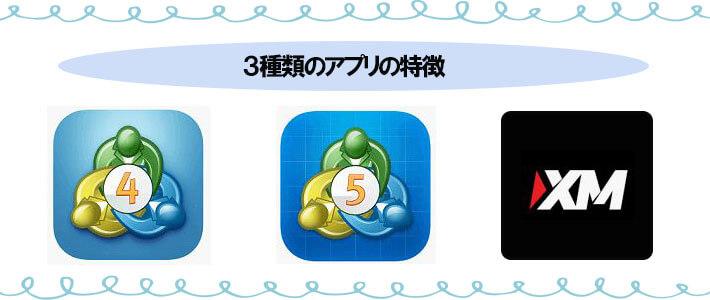 XMアプリの特徴